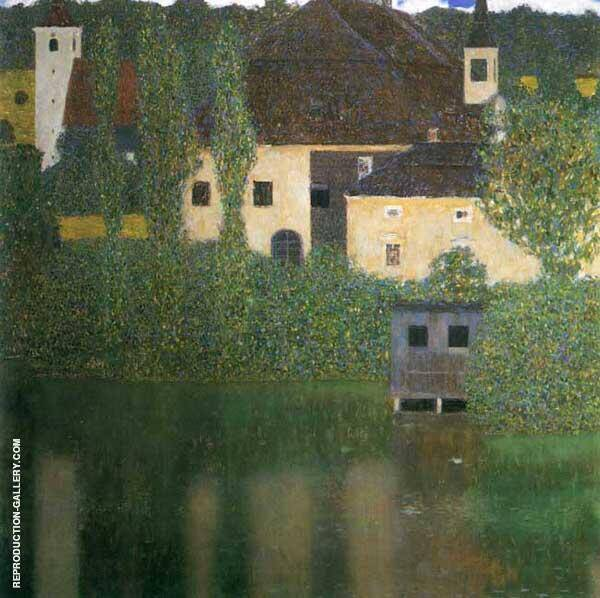 Schloss Kammer on the Attersee ! 1910 By Gustav Klimt