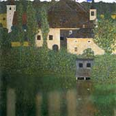 Schloss Kammer on the Attersee ! 1910 By Gustav Klimt