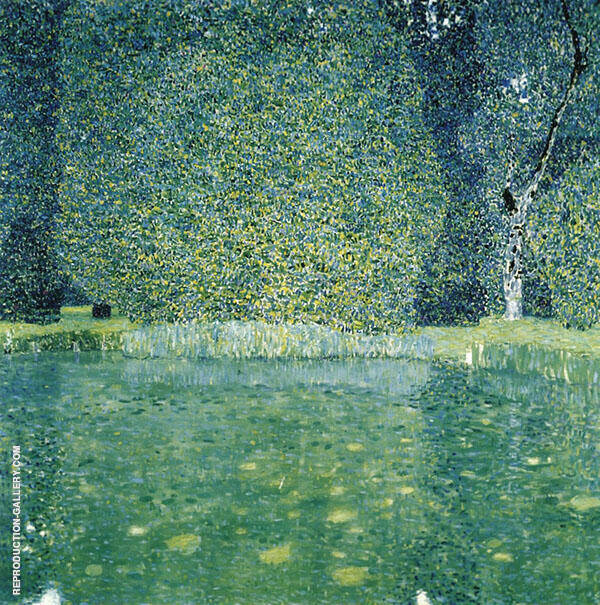 The Park at Schloss Kammer Attersee By Gustav Klimt