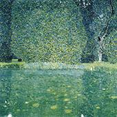 The Park at Schloss Kammer Attersee By Gustav Klimt