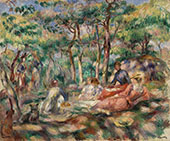 Picnic By Pierre Auguste Renoir
