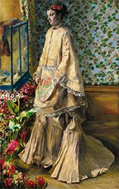 Rapha Maitre1 1871 By Pierre Auguste Renoir