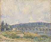 Sevres Bridge By Pierre Auguste Renoir