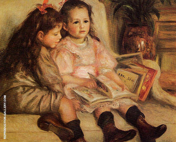 The Children of Martial Caillebotte 1895 By Pierre Auguste Renoir