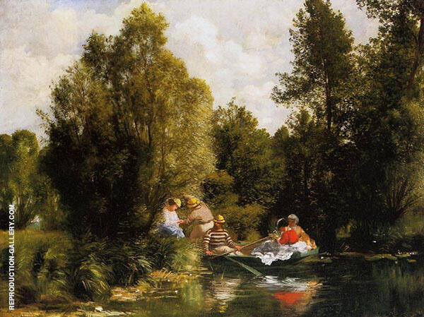 The Fairies Pond 1866 By Pierre Auguste Renoir