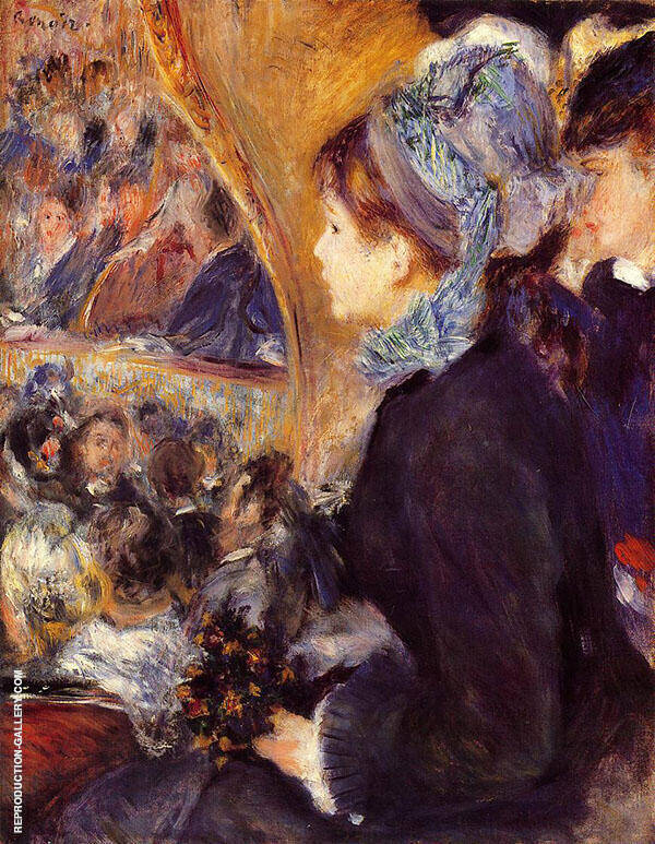 The First Outing 1875 By Pierre Auguste Renoir