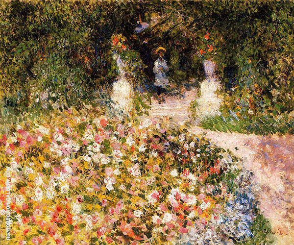 The Garden aka In The Park By Pierre Auguste Renoir