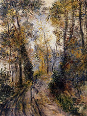 The Path Through The Forest 1871 By Pierre Auguste Renoir