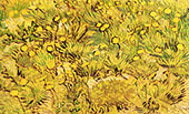 A Field of Yellow Flowers By Vincent van Gogh