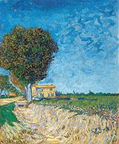 A Lane near Arles 1888 By Vincent van Gogh