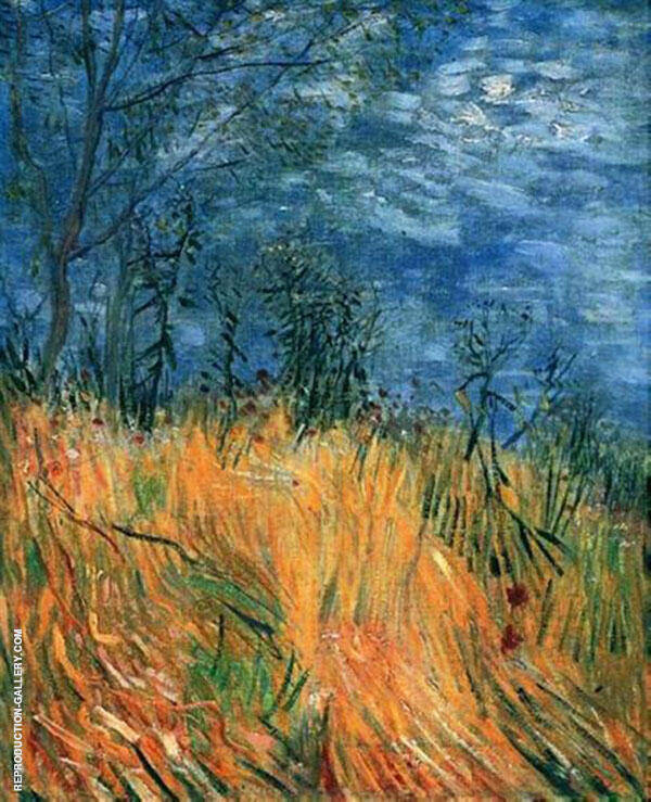 Edge of a Wheatfield with Poppies 1887 By Vincent van Gogh