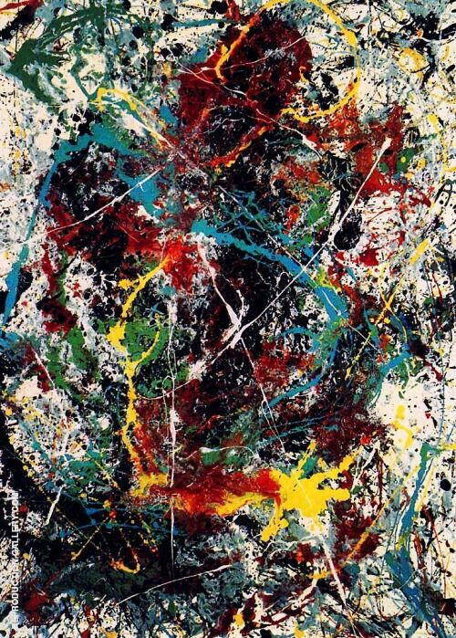 Untitled 31A 1950 By Jackson Pollock