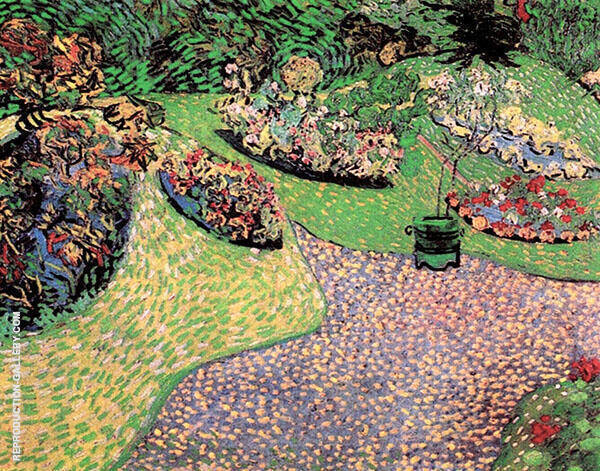 Garden Auvers 1890 By Vincent van Gogh