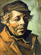 Head of a Peasant By Vincent van Gogh