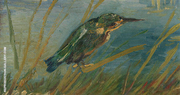Kingfisher 1886 By Vincent van Gogh