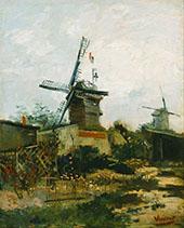 Le Moulin de Blute Fin By Vincent van Gogh
