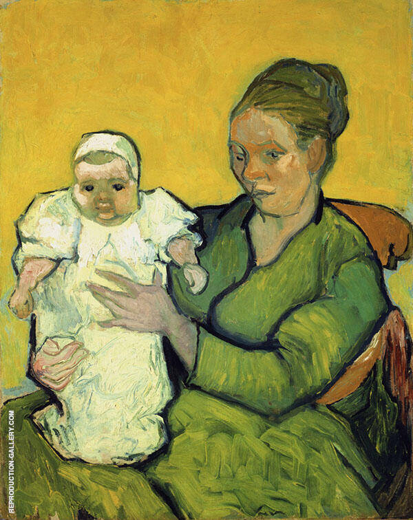 Mother Roulin with Her Baby Painting By Vincent van Gogh