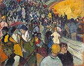 Spectators in the Arena at Arles 1888 By Vincent van Gogh