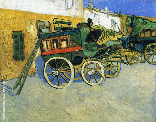 The Tarascon Diligence 1888 Painting By Vincent van Gogh