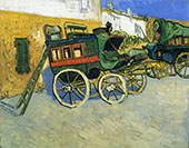 The Tarascon Diligence 1888 By Vincent van Gogh