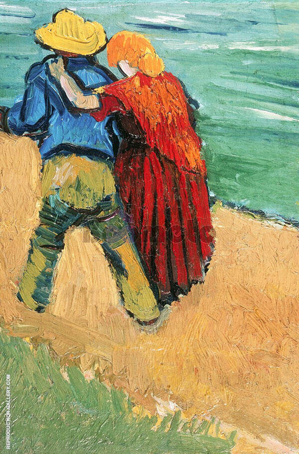 Two Lovers 1888 By Vincent van Gogh
