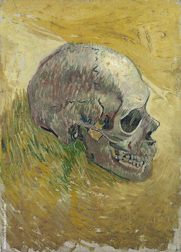 Skull By Vincent van Gogh