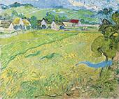 View of Vessenots near Auvers 1890 By Vincent van Gogh