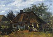 Farmhouse in Nuenen By Vincent van Gogh