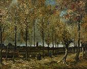 Poplars near Nuenen By Vincent van Gogh