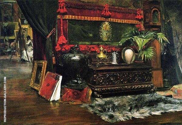 A Corner of My Studio 1895 By William Merritt Chase