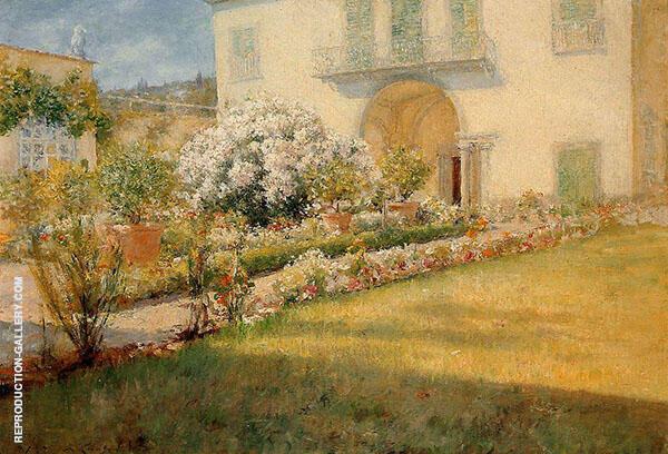 A Florentine Villa 1907 By William Merritt Chase