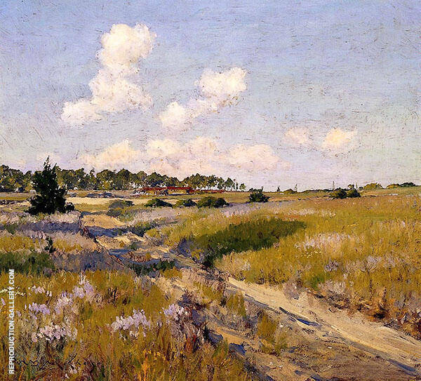 Afternoon Shadows By William Merritt Chase