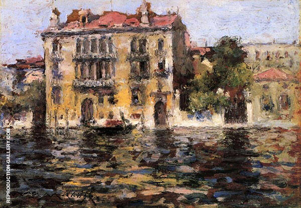 After The Rain By William Merritt Chase