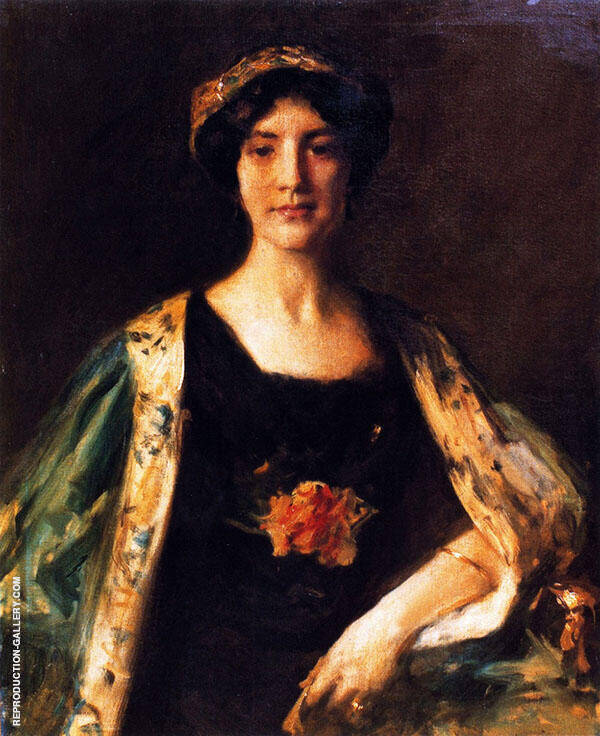 Alice Chase Sullivan By William Merritt Chase