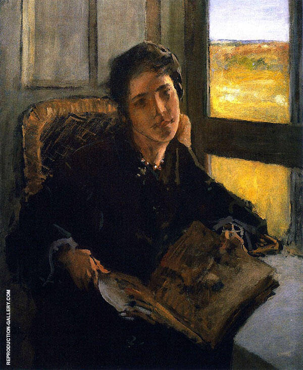 Alice Dieudonne Chase Shinnecock Hills 1902 By William Merritt Chase