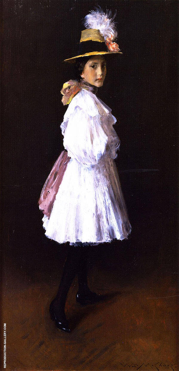 Alice II By William Merritt Chase