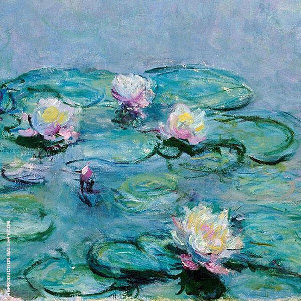 Water Lilies, Detail 1 By Claude Monet