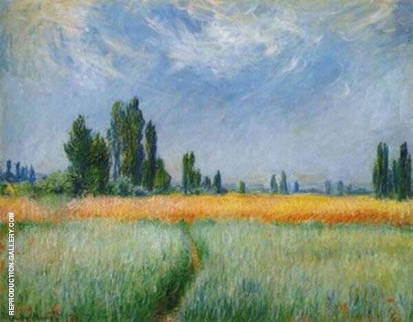 Field of Corn 1881 By Claude Monet