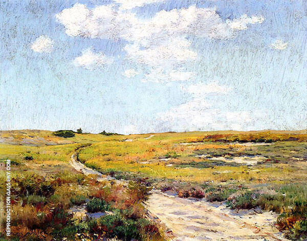 A Sunny Afternoon Shinnecock Hills By William Merritt Chase