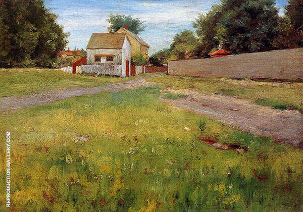 Brooklyn Landscape Painting By William Merritt Chase