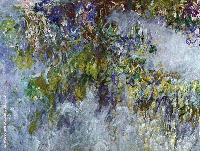 Wisteria 1917 1 By Claude Monet