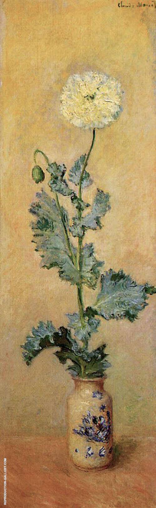 Wisteria 1917 2 By Claude Monet