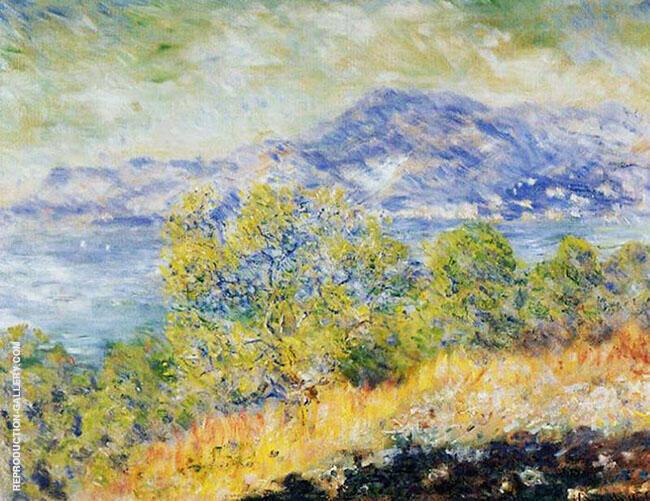 View Near Ventimiglia 1884 By Claude Monet