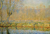 The Willow Tree 1885 By Claude Monet