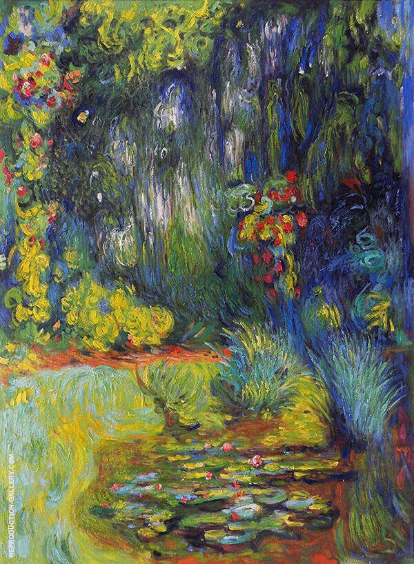 The Water Lily Pond 1918 By Claude Monet