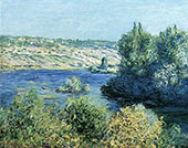 The Seine at Vetheuil 1881 By Claude Monet