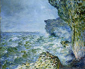 The Sea at Fecamp 1881 By Claude Monet