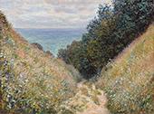 The Path at La Cavee Pourville 1882 By Claude Monet