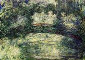 The Japanese Bridge 1918 2 By Claude Monet