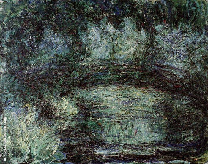 Claude Monet Japanese Bridge 1918 6 By Claude Monet